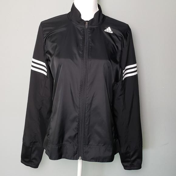 Adidas Response Wind Running Jacket Black